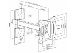 Настенное крепление Brateck LPA51-111 дешево