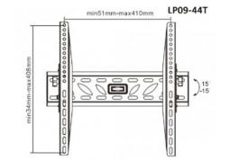 Настенное крепление Brateck LP09-44T цена