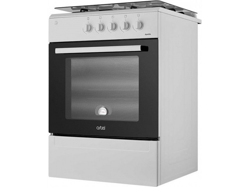Комбинированная плита Artel Apetito 10-E White в интернет-магазине