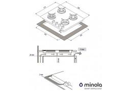 Варочная поверхность Minola MGG 61263 WH описание