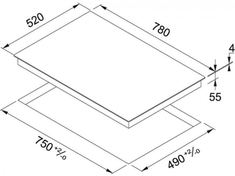 Варочная поверхность Franke FHSM 804 4I BK (108.0492.717) купить