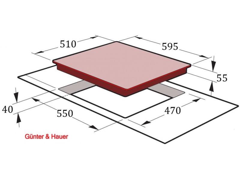 Варочная поверхность Gunter&Hauer GH 642 IVR в интернет-магазине