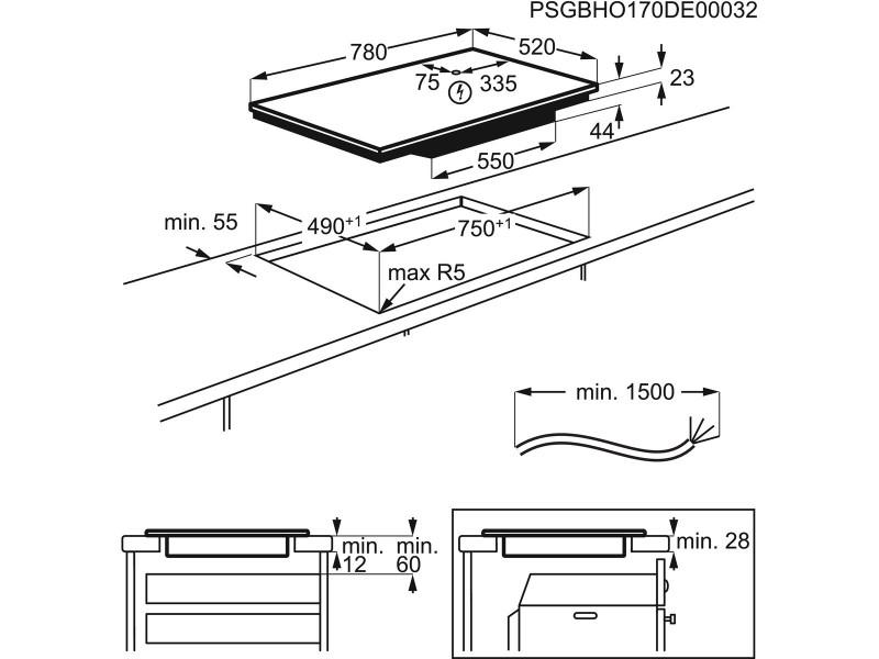 Варочная поверхность Electrolux EIV 835 в интернет-магазине