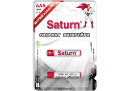 Батарейки Saturn LR03 ААА 2шт (ST-ALR03-2) - Интернет-магазин Denika