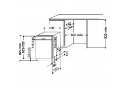 Посудомоечная машина Whirlpool WBC 3C26 B дешево