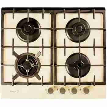 Варочная поверхность Borgio 6272-18 FFD (Ivory Glass)