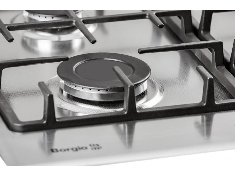 Варочная поверхность Borgio 6721-17 (Linen Inox) дешево
