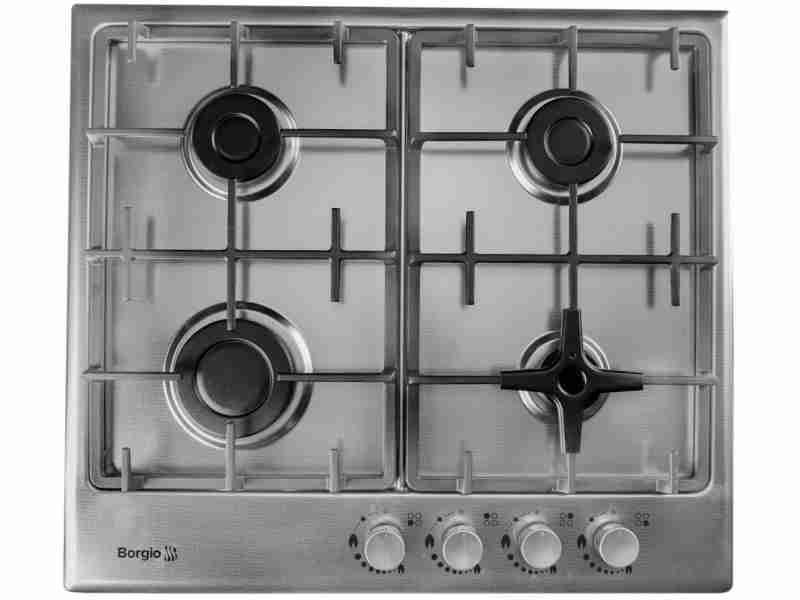 Варочная поверхность Borgio 6721-17 (Linen Inox)