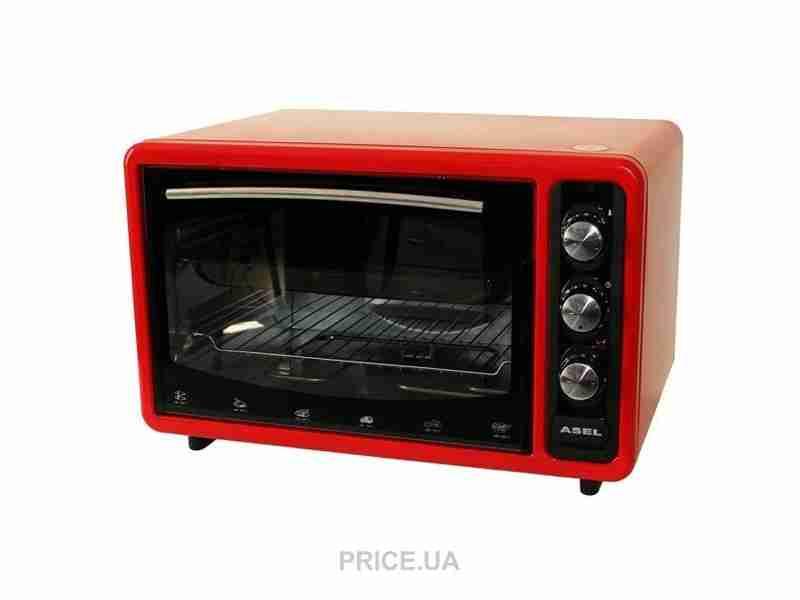 Электродуховка Asel AF-5023 Red