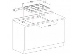 Варочная поверхность Hotpoint-Ariston PCN 640 T (OW) R дешево