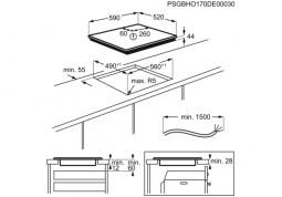 Варочная поверхность Electrolux IPES6452KF купить