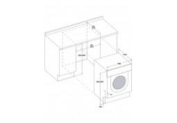 Встраиваемая стиральная машина Whirlpool BI WDWG 75148 EU в интернет-магазине