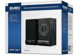 Компьютерные колонки Sven SPS-607 Black купить