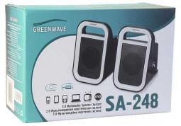 Компьютерные колонки Greenwave SA-248 Black-White стоимость