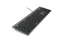 Клавиатура Vinga KB735 Black-Gray дешево