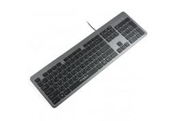 Клавиатура Vinga KB735 Black-Gray