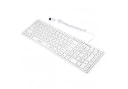 Клавиатура Vinga KB820 White дешево