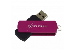 Флешка Exceleram 16 GB P2 Series Purple/Black (EXP2U3PUB16)