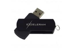Флешка Exceleram 16 GB P2 Series Black/Black USB 3.1 Gen 1 (EXP2U3BB16)