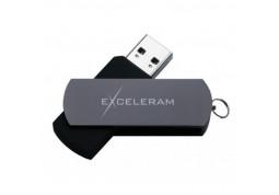 Флешка Exceleram P2 Series Black/Gray 16 GB USB 3.1 (EXP2U3GB16)