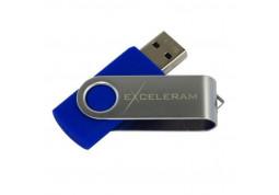 Флешка Exceleram 16 GB P1 Series Silver/Blue USB 2.0 (EXP1U2SIBL16)