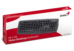 Клавиатура Genius KB-110X PS/2 (31300711107) цена