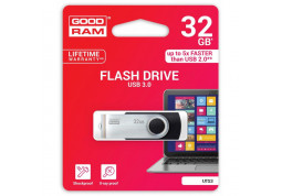 Флешка GOODRAM 32GB UTS3 Twister Black USB 3.0 (UTS3-0320K0R11) фото