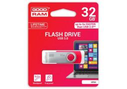 Флешка GOODRAM 32 GB Twister USB 3.0 Red UTS3-0320R0R11 описание