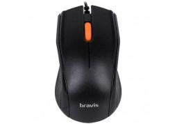 Мышь BRAVIS M603 Black