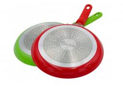 Сковородка Con Brio Eco Granite СВ-2224 (зеленая) дешево