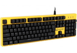 Клавиатура Hator Rockfall Mechanical Blue Switches Yellow Edition RU (HTK-601) купить