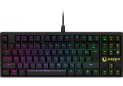 Клавиатура Hator Rockfall TKL Optical Black Switches RU (HTK-620)