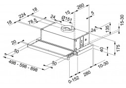 Вытяжка Franke Flexa FTC 532L WH (315.0547.795) описание
