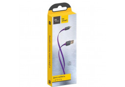 Кабель Florence USB 2.0 AM to Lightning 1.0m Color Purple (FDC-L1-2P)