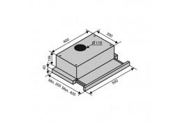 Вытяжка VENTOLUX GARDA 60 WH (700) SLIM описание