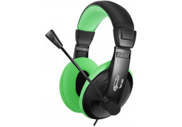 Наушники Gemix W-300 Black/Green (04300094)
