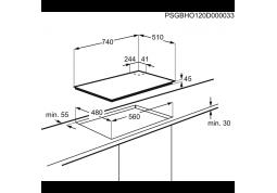 Варочная поверхность AEG HKB75540NB отзывы
