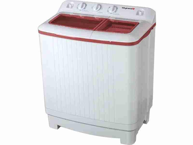Cтиральная машина ViLgrand VD709-53E (красная)