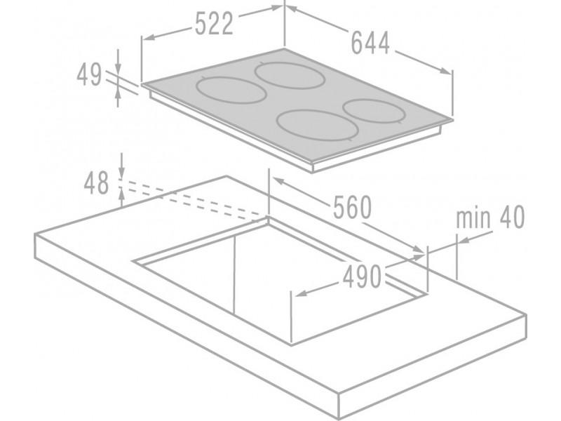 Варочная поверхность Gorenje GIS 64 XC стоимость