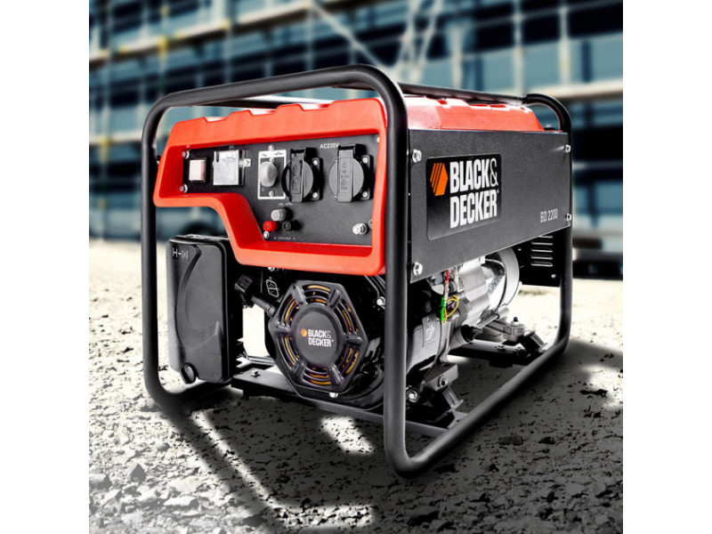 Генератор бензиновый Black&Decker BD2200 недорого