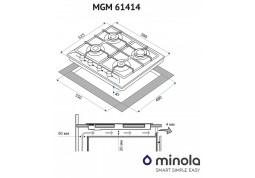 Варочная поверхность Minola MGM 61414 I стоимость