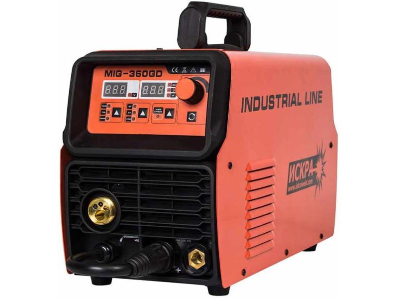 Сварочный полуавтомат инверторный Искра MIG-360GD Industrial Line