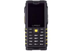Мобильный телефон Sigma X-treme DZ68 Black-yellow