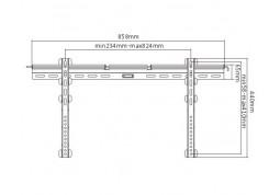 Настенное крепление Brateck PLB-41E цена