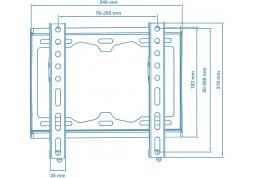 Настенное крепление Walfix TV-10B стоимость