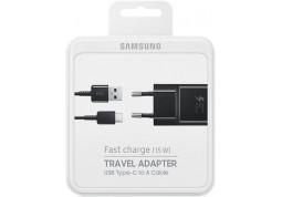 Зарядное устройство Samsung AFC (USBx2A) + кабель Type-C Black (EP-TA20EBECGRU) описание