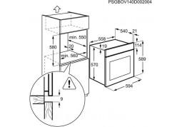 Духовой шкаф Electrolux EZF5C50X фото