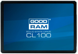 SSD накопитель GOODRAM 480GB  CL100 GEN.2 2.5 SATAIII TLC (SSDPR-CL100-480-G2)