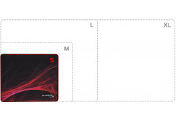 Коврик для мышки Kingston HyperX Fury S Pro Speed Edition S Black (HX-MPFS-S-SM) в интернет-магазине