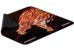 Коврик для мышки SteelSeries QcK+ CS:GO Howl Edition (63403) цена